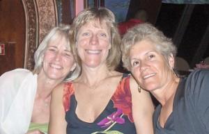 Kim, Sue and me