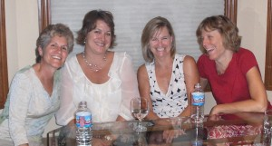 Me, Sharon, Pam and Sue