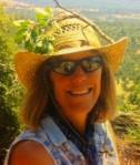 Sue on our weekend horseback trip