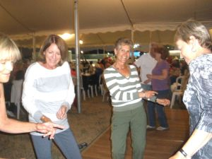 Barbara, JT, me and Diane