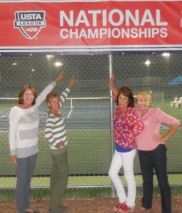 JT, me, Patty and Shelley at Nationals