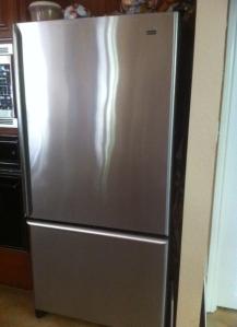 Exceedingly heavy fridge