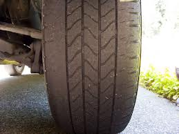 What?! My tires are worn inside?!