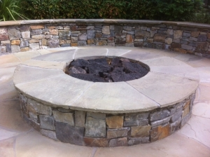 So long, gas fire pit