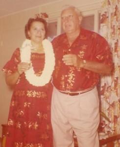 Grandma and Grandpa Ed