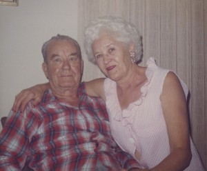 Nana and Grandpa Verne
