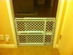 Dang baby gate
