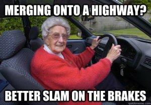 merging on highway