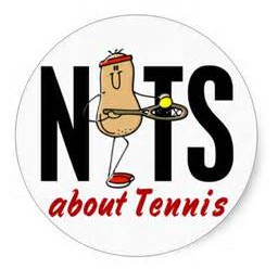 Nuts about tennis