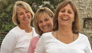 Kim, Pam & Sheila