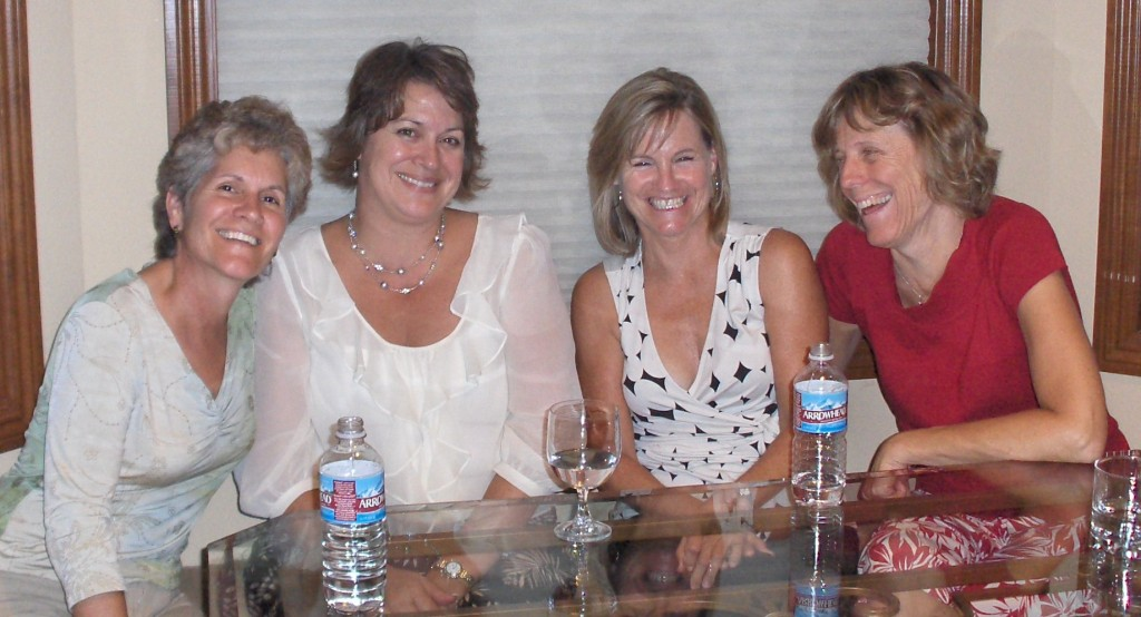 Me, Sharon, Pam & Sue