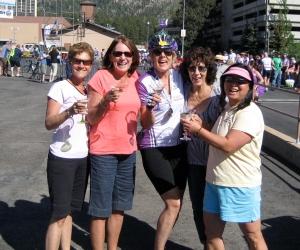 Me, JT, Patti, Annette & Hilary