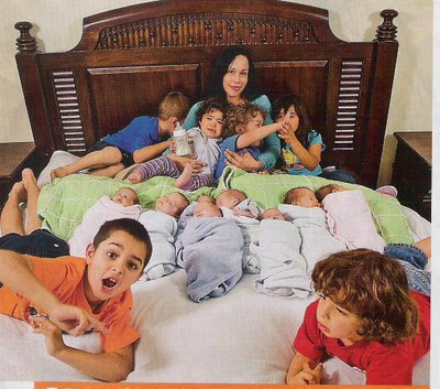 Octomom and her 14 kids