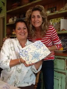 In ceramics