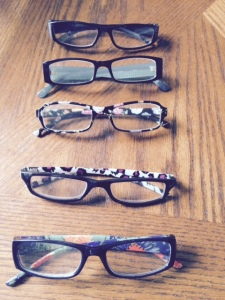 5 weeks worth of glasses