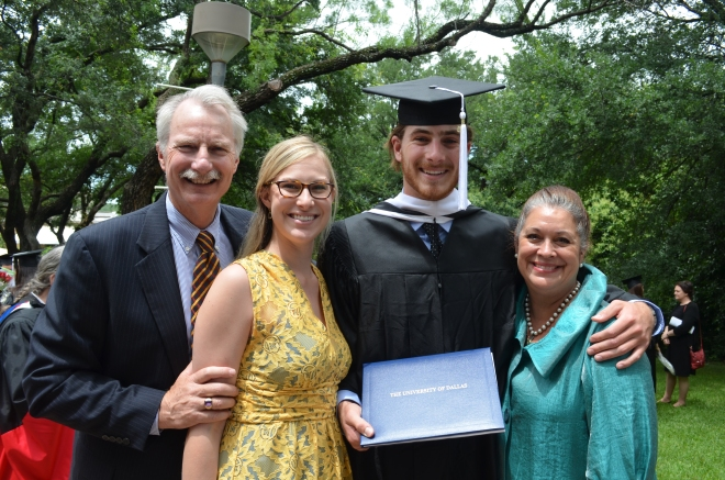 Jim, Caitlin, Martin and Sharon