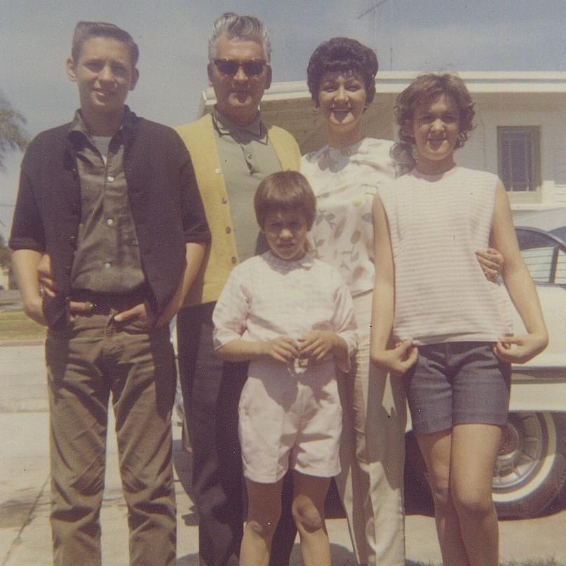 My family, 1963