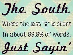 south saying