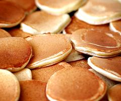 dollar size pancakes