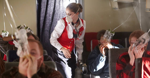 air masks on planes
