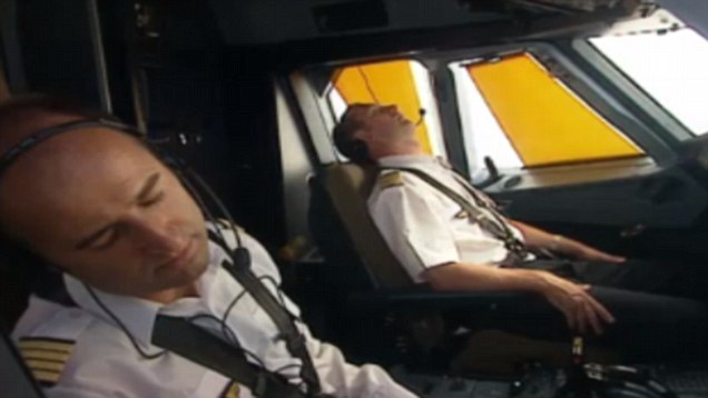 sleeping pilots