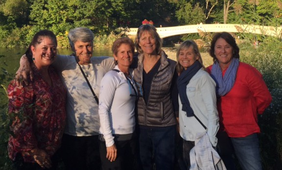 From left: Sharon, Patty, Janet, Sue, Pam, Karen