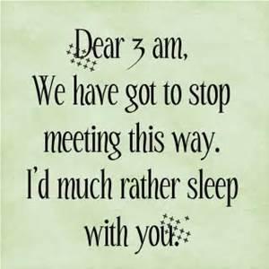 dear 3 a.m