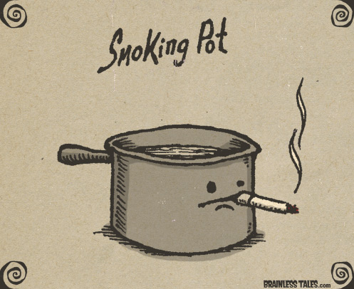 smoking-pot