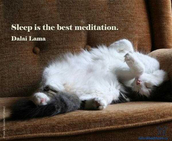 Sleepisthebestmeditation