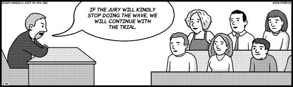 jury wave