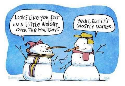 snowman weight joke