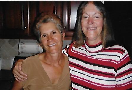 Vicki and me