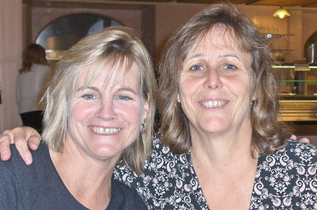 Pam and Sheila