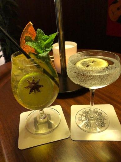 Charleston Savannah cocktails