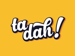 ta-dah