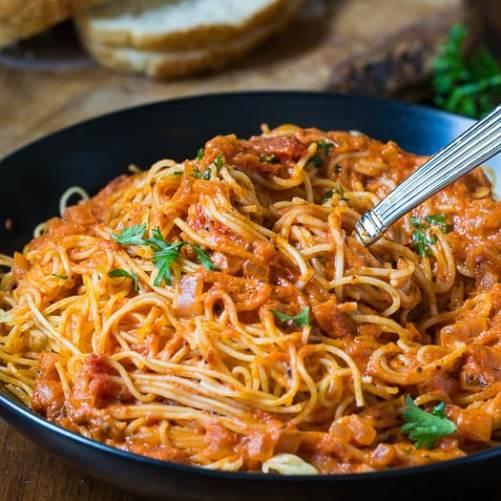 Cajun pasta