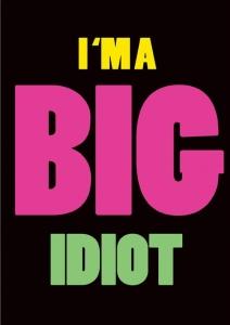 C3946SRG A Big Idiot.indd