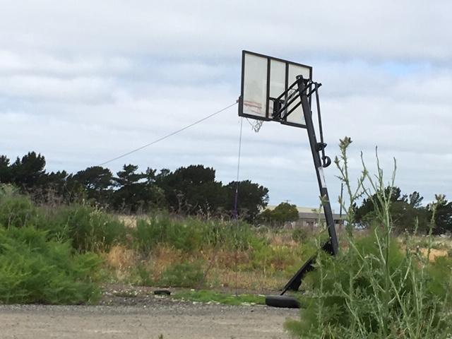view of basketball hoop 2